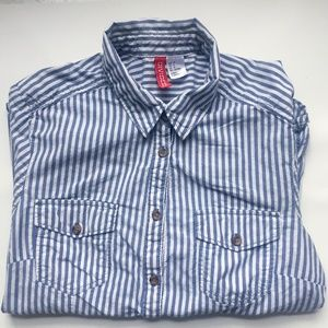 Divided by H&M Striped Blouse